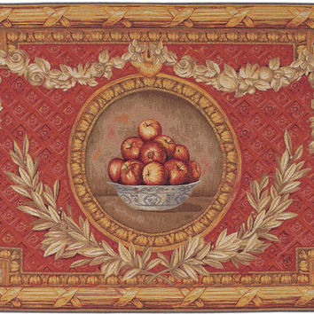 Vase Empire European Tapestry Wall Hanging