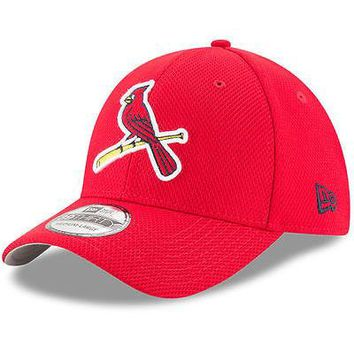 St. Louis Cardinals New Era 39THIRTY Diamond Era Stretch Fit Flex Cap Hat 3930