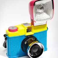 Lomography Diana F+ CMYK Camera Kit | Shop Cameras Now | fredflare.com