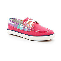 Polo Ralph Lauren Girls' Sander-Cl Boat Shoes - Pink/Plaid