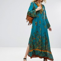 Free People If You Only Knew Printed Midi Tunic Dress at asos.com