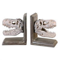 Uttermost Dinosaur Bookends, Set/2 - Uttermost 19924
