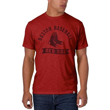 Boston Red Sox - Sox Logo Scrum Premium T-Shirt