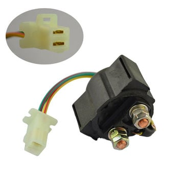 Motorcycle Starter Solenoid Relay Ignition Key Switch For Yamaha VIRAGO 535 XV535 1987-2000 Street ATV Electrical Parts