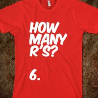 How Many R's?