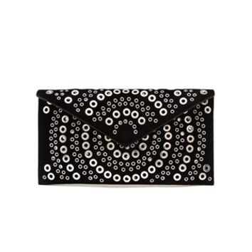 AZZEDINE ALAÏA | Suede Envelope Clutch | brownsfashion.com | The Finest Edit of Luxury Fashion | Clothes, Shoes, Bags and Accessories for Men & Women