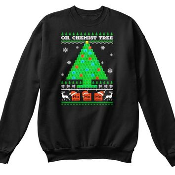 Oh Chemistry Tree Ugly Christmas Sweater