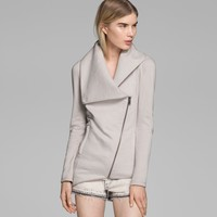 HELMUT LANG SOFT SWEATSHIRT JACKET