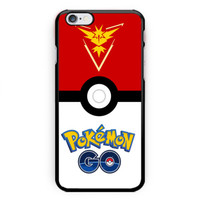 New Hot Pokemon Go Team Instinct Hard Plastic Case For iPhone 6s 6s plus, 7/7s