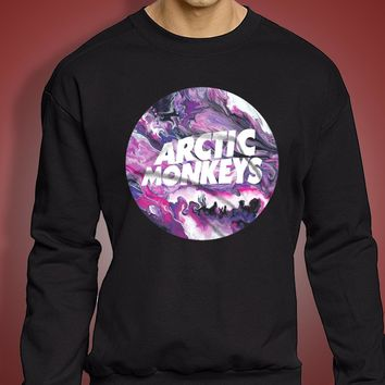 Arctic Monkeys Marble Men'S Sweatshirt