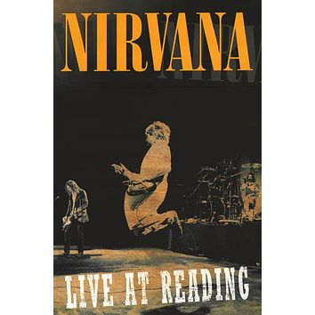 Nirvana Live at Reading Poster 24x36