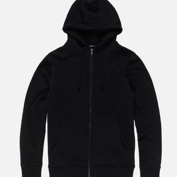 Loopwheel Flash Dual Fullzip / Black