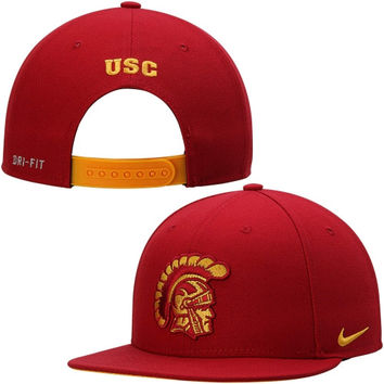 USC Trojans Nike 2014 Players True Performance Snapback Adjustable Hat – Cardinal