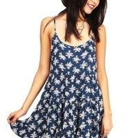 Crosshatch Babydoll Dress