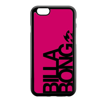 billabong girl pink logo iPhone 6 Case