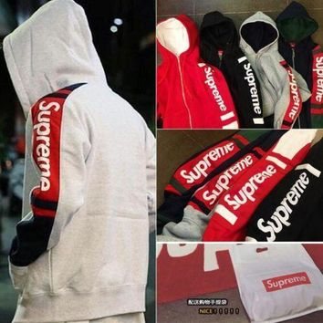ca spbest Supreme Warm Classic Hooded Sweater