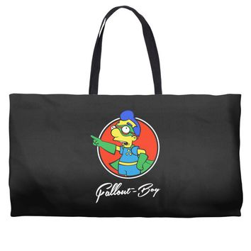 fallout boy Weekender Totes