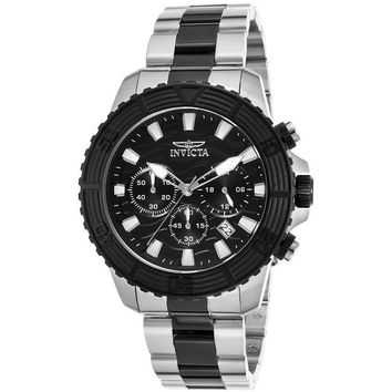 Invicta Men's Pro Diver Quartz Stainless Steel Two Tone Casual Watch 24004