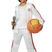 Troy Child Costume Deluxe- High School Musical - Medium (8-10)