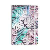 "Alison Coxon ""Midnight Jungle"" Pink Blue Everything Notebook"