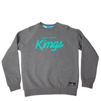 King Apparel - E.L.K. Crew - Charcoal Heather Grey
