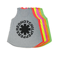Red Hot Chili Peppers Tank Top T Shirt Women T-Shirt Size S M
