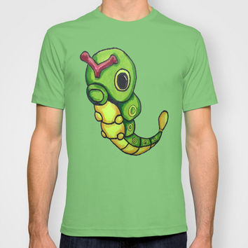 Pokemon Graphic T-Shirt:Caterpie  MENS + WOMANS