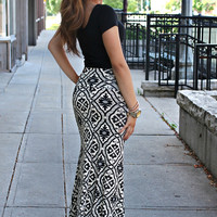 Fancy Me Maxi Skirt