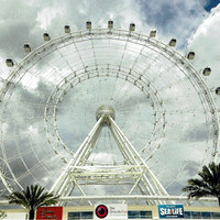 The Orlando Eye, Postcard, Orlando, Fl, opened in April, A Great Postcrossing Postcard, Farris Wheel, Attractions