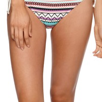 Eidon Nomad Tie Side Maya Bottom - Womens Swimwear - Multi -
