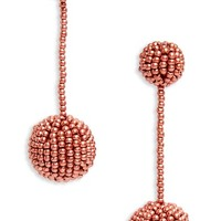 Madewell Beaded Drop Earrings | Nordstrom
