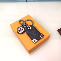 Louis Vuitton Lv M64180 Travel Tag Bag Charm And Key Holder Eclipse - Best Deal Online