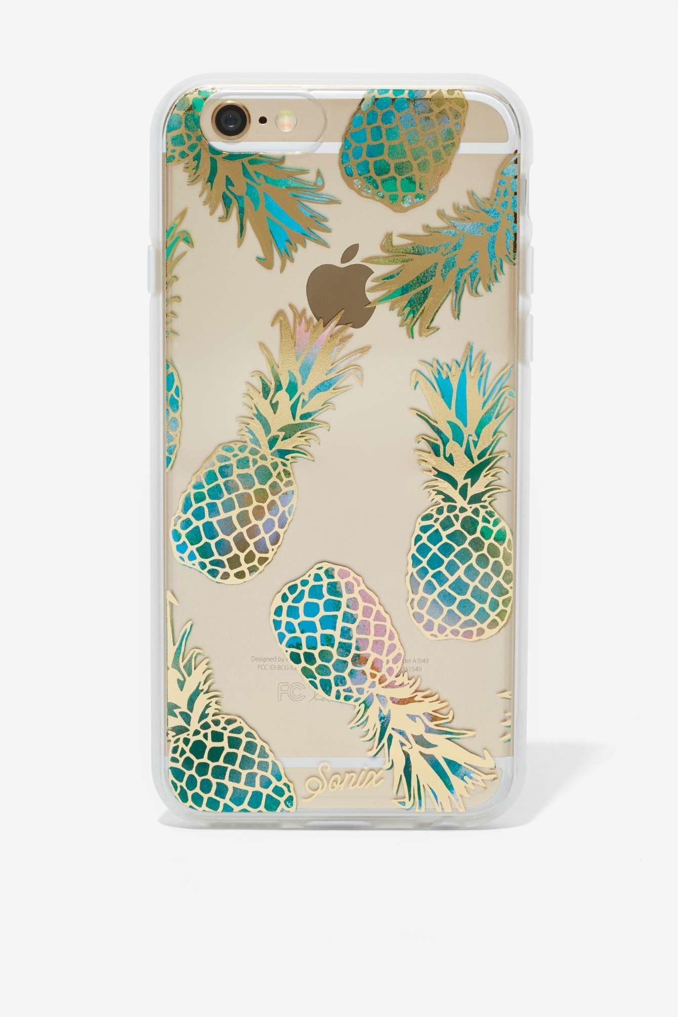 Sonix Iphone 6 Case Pineapple From Nasty Gal Quick Saves