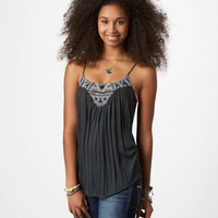 AE Embroidered Cami | American Eagle Outfitters