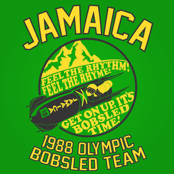 Jamaica 1988 Olympic Bobsled Team Crewneck Sweatshirt