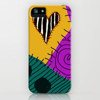 Sally - Nightmare Before Christmas iPhone & iPod Case by Lea Bostwick