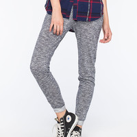 Others Follow French Terry Womens Jogger Pants Navy  In Sizes