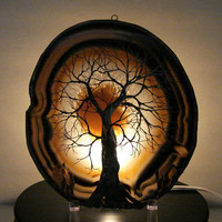 Wire Tree Of Life Winter Spirit sculpture natural by CrowsFeathers