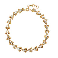 Crystal stone cluster necklace - jewelry - Men - J.Crew