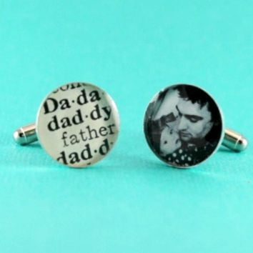 Father's Day Photo Cufflinks
