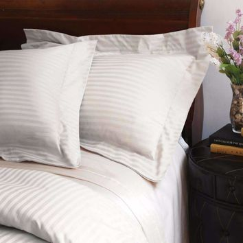 Valentino Stripe 1200 Thread Count Egyptian Cotton Duvet Cover set