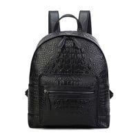 Comfort Back To School Hot Deal Stylish On Sale College PU Leather Korean Casual Mini Backpack [6542301379]