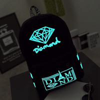 Glow in the Dark Canvas Backpack