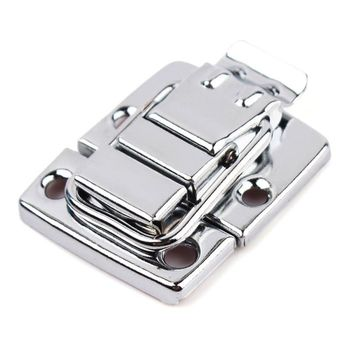 New High Quality Stainless Steel Chrome Toggle Latch For Chest Box Case Suitcase Tool Clasp #67271