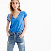 V-neck T-shirt in Supima® cotton