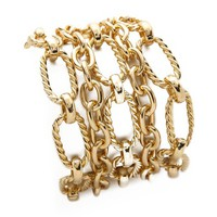Adia Kibur Layered Chain Bracelet
