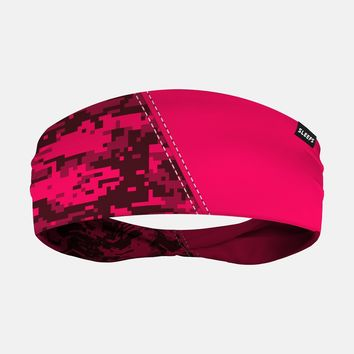 Arsenal Digi Camo Pink Headband