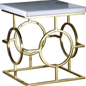 Brooke Gold End Table