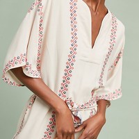 Corey Lynn Calter Embroidered Romper