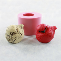 Silicone Bird Mold 3D Mould for Resin Soap Wax Isomalt Candy Chocolate (501)